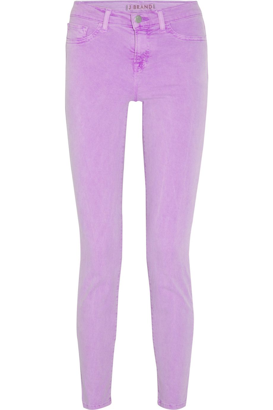 cropped skinny jeans - Pink & Purple J Brand