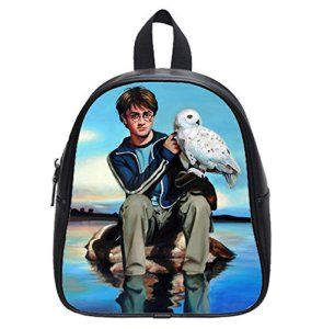 by EnjoyU Harry Potter and Hedwig Custom New kids Backpack School Bag For children (Small)