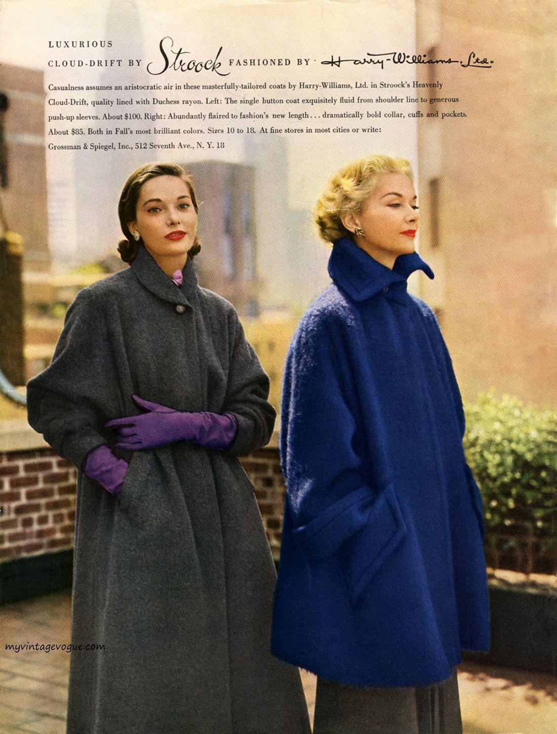 Fashion by Stroock Harry Williams LTD, 1951