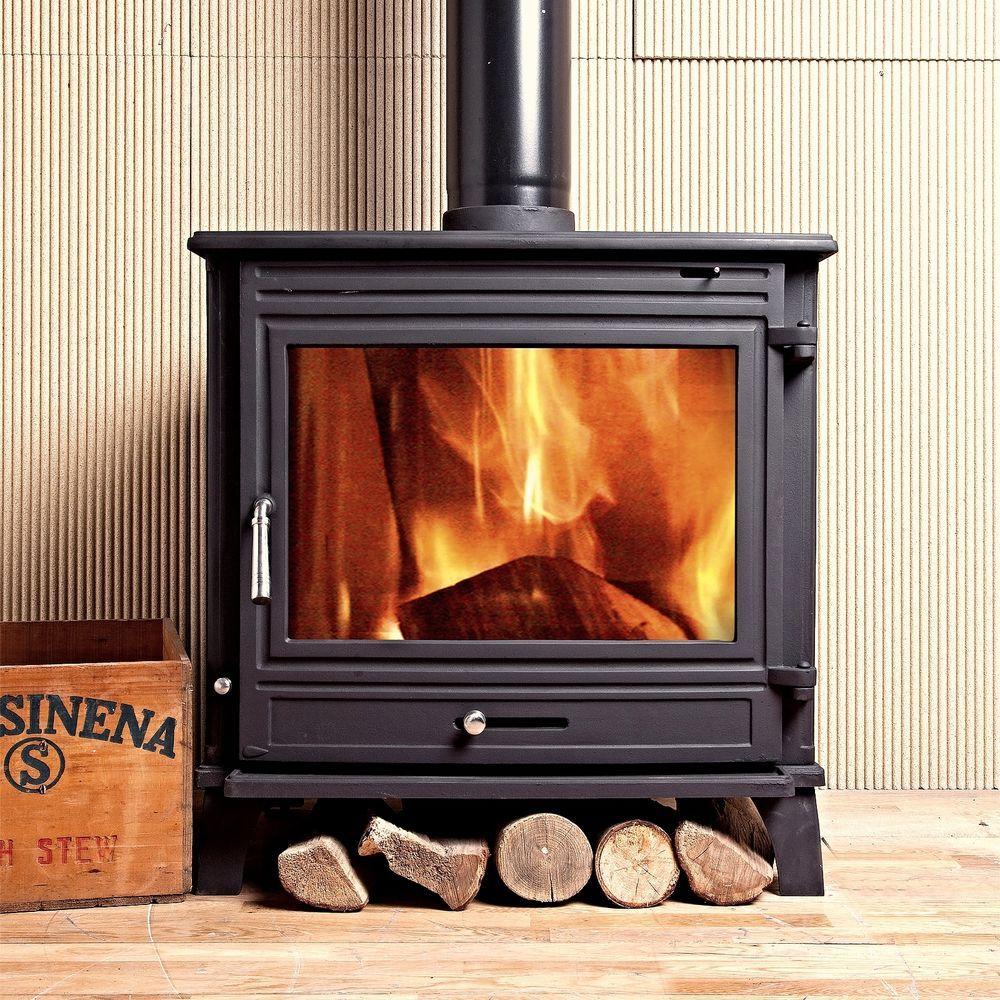 coseyfire 25kw back boiler woodburning cast iron stove woodburner
