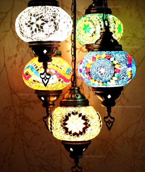 Appeso paralume lampadario luci lampada turca marocchino