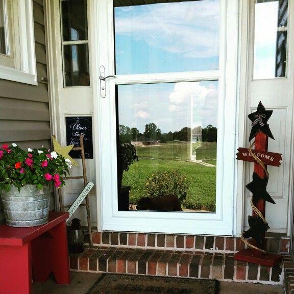 Primitive front porch