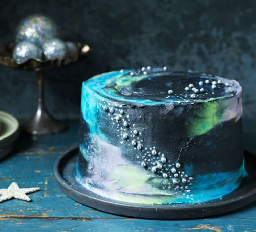 Galaxy Cake Recipe Out Of This Displaced World