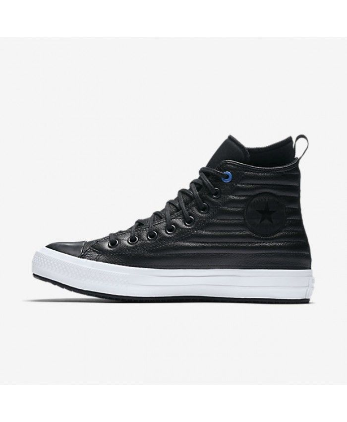 Converse Chuck Taylor All Star Waterproof Boot Quilted Leather Black