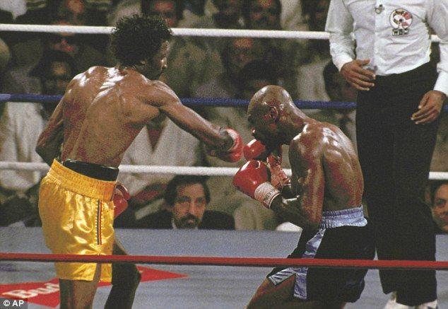 Jeff Powell S Greatest Fights Marvin Hagler Vs Thomas Hearns Boxing Videos Marvin Marvelous Marvin Hagler