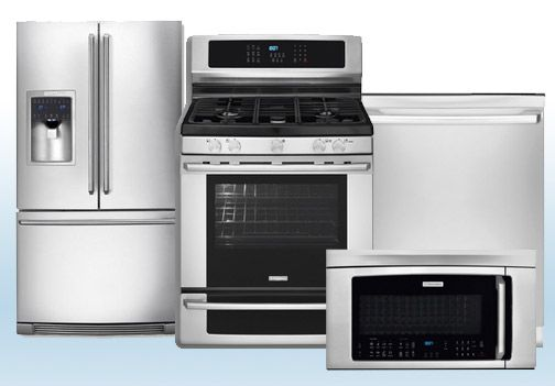 Delicieux Package 31   Electrolux Appliance Package   4 Piece Appliance Package With  Gas Range   Stainless Steel