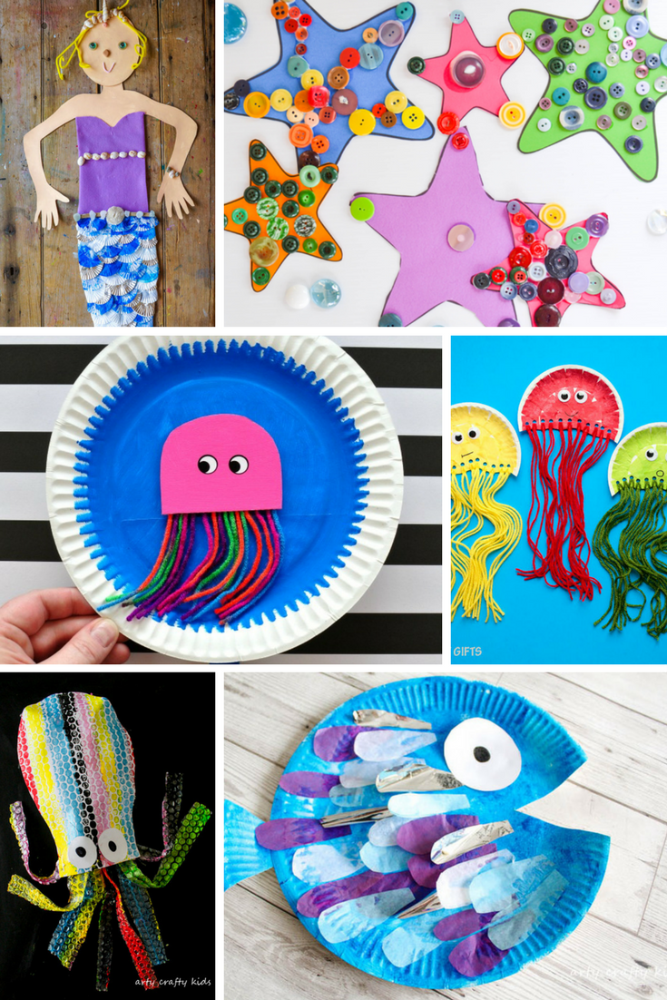 Under The Sea Crafts For Kids Under The Sea Crafts Sea