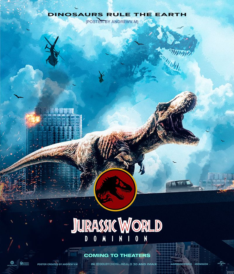 Jurassic World Dominion Poster Rexy Jurassic World Jurassic World Dinosaurs Jurassic Park World