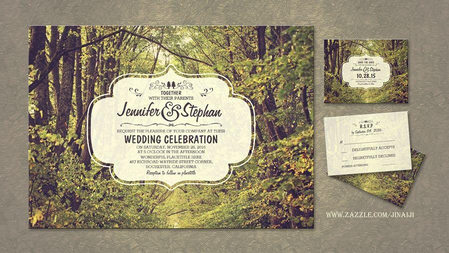 Read More Trees Avenue Rustic Woodland Wedding Invitations Forest Wedding Invitations Rustic Woodland Wedding Invitations Rustic Woodland Wedding