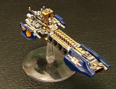 Grey Knights Strike Cruiser Battlefleet Gothic Battlefleet