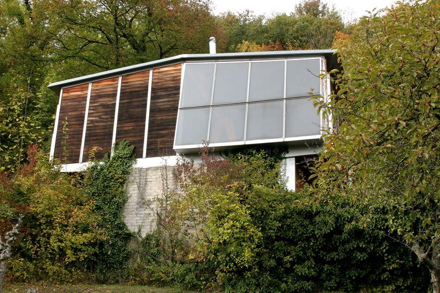 jean prouv architecture pinterest mid century exterior design et modern architecture. Black Bedroom Furniture Sets. Home Design Ideas