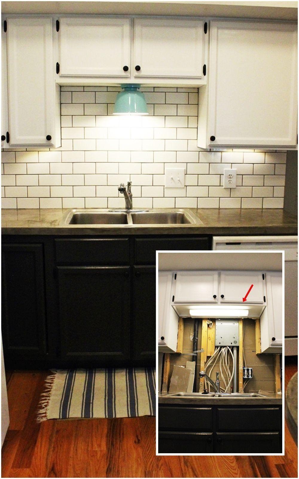 Lighting For Above Kitchen Cabinet Diy Kitchen Lighting Upgrade Led Under Cabinet Lights In 2020 Kitchen Design Diy Installing Kitchen Cabinets Above Kitchen Cabinets