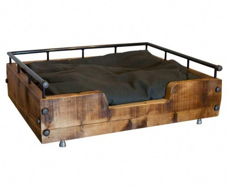 20 Seriously Stylish Dog Beds For The Discerning Pet Stylish Dog Beds Dog Bed Pallet Dog Beds