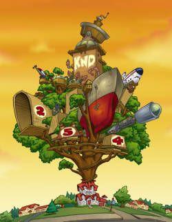 Knd Codename Kids Next Door Treehouses Tom Warburton