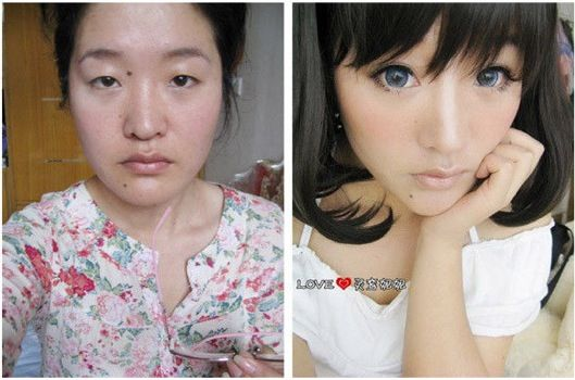 Pin On Before After Makeup Looks