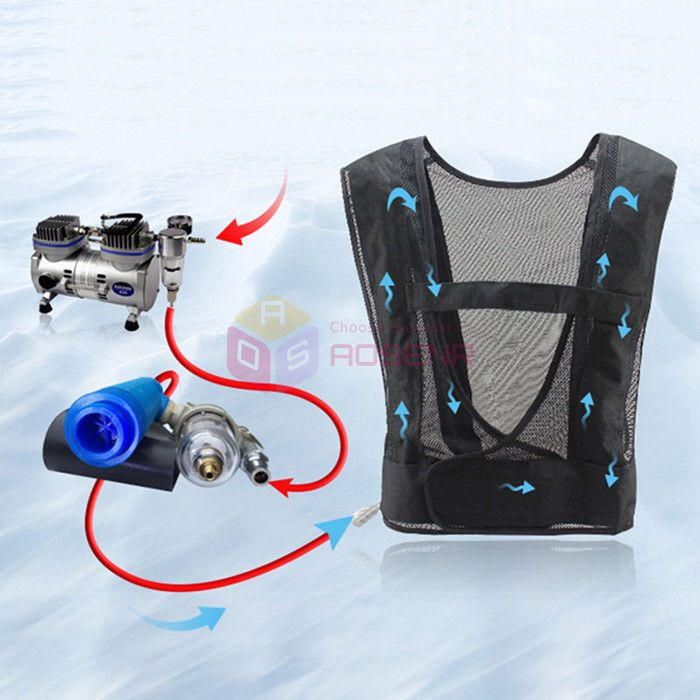 Forging Worker Air Conditioning Cooling Vest Vortex Tube Tool Air