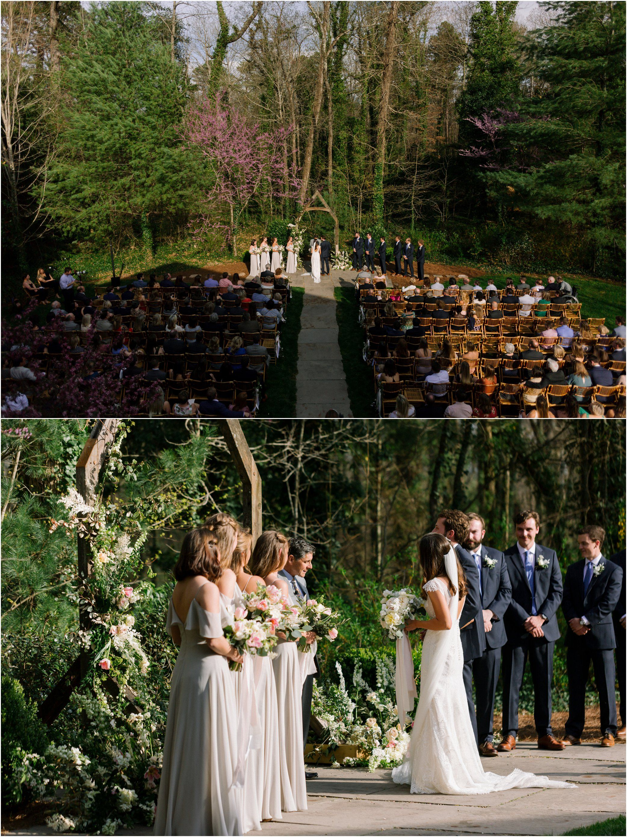 A Spring Forest Wedding At Rt Lodge In Maryville Tenn An Outdoor