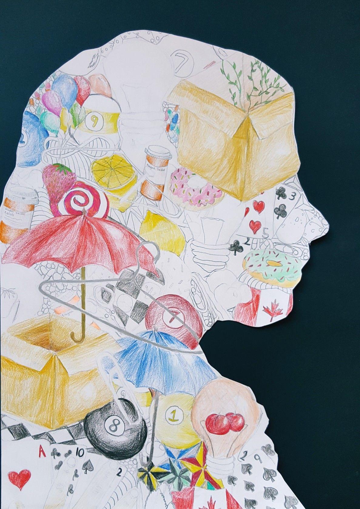 Personalized Silhouettes 7th Grade Art Ed Central