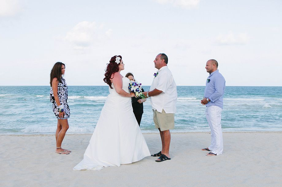 South Beach Elope At Fontainebleau Miami All Arrangements Notary Floral And