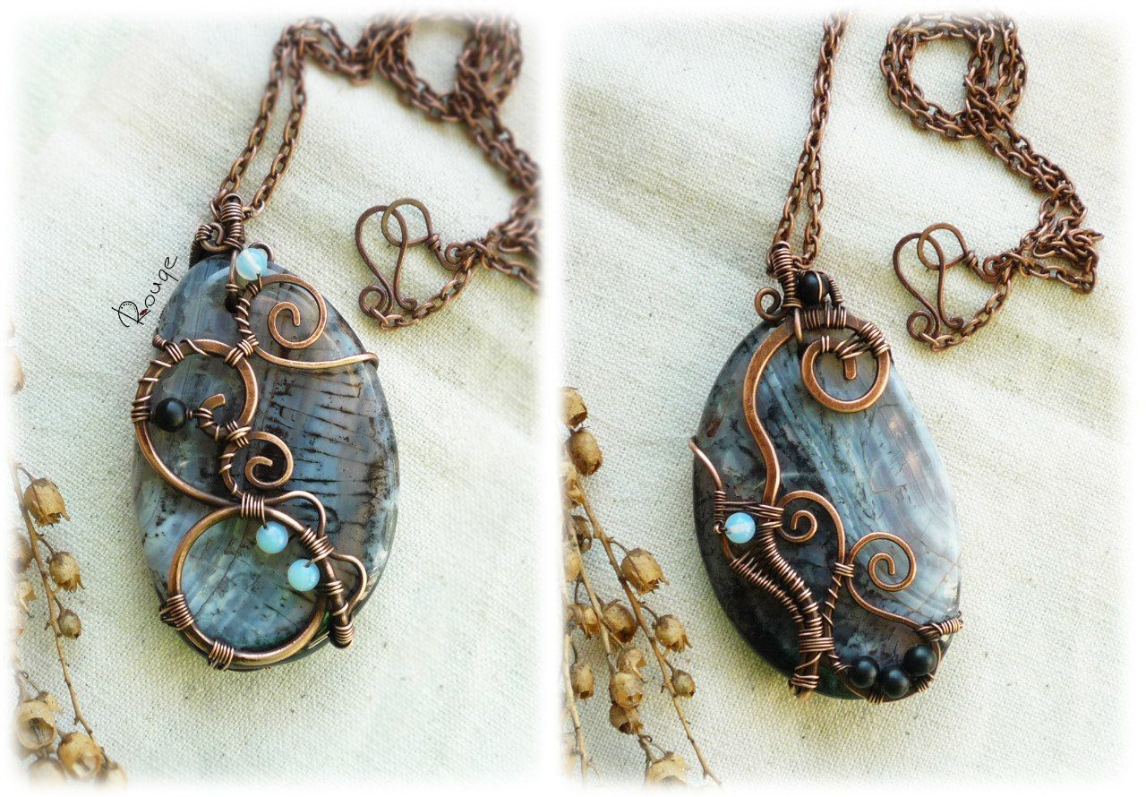 Simple yet stunning! | Jewels | Pinterest | Wire wrapping, Wraps and ...