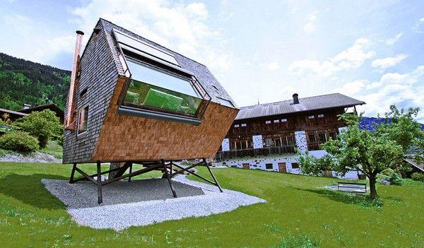 UFOgel – инопланетная дача в Австрии. Источник фото: urlaubs architektur
