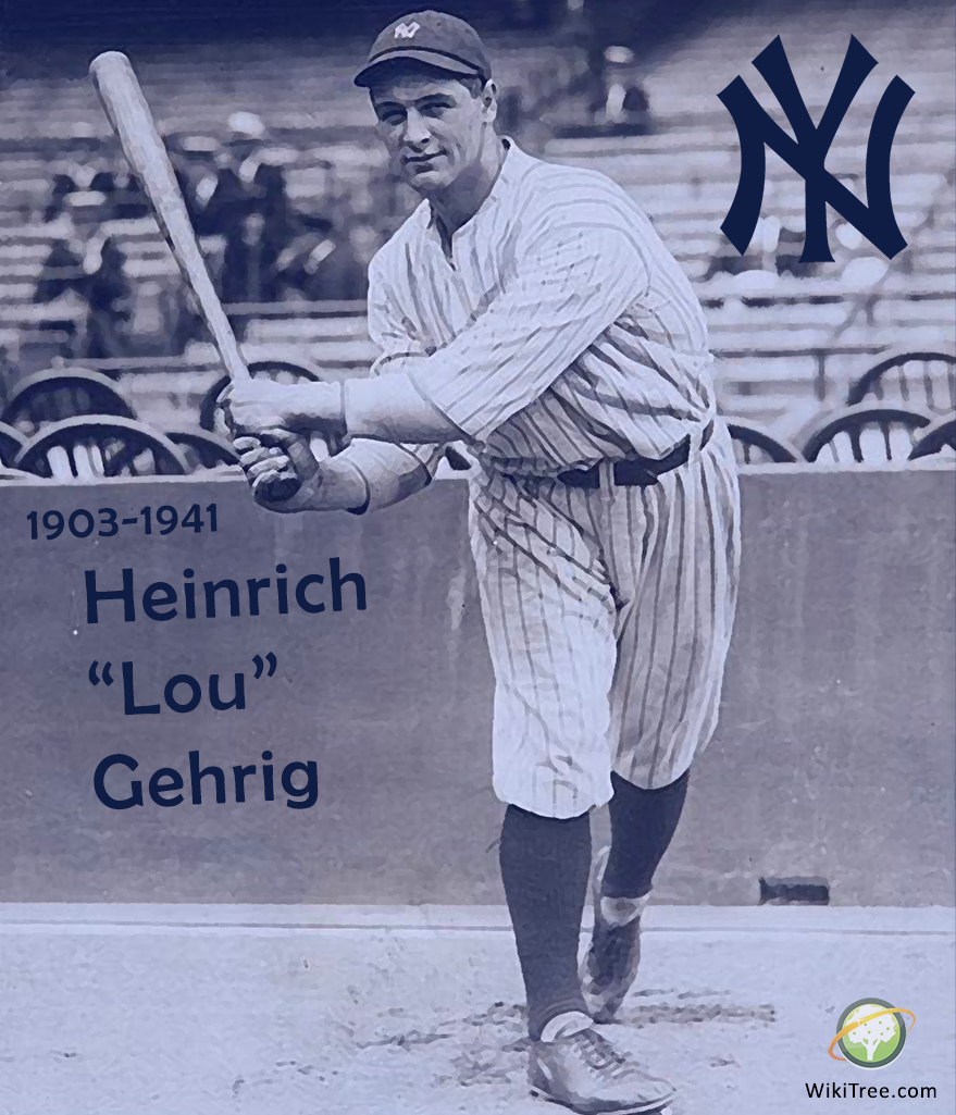 Lou Gehrig Was An All Star Mvp Legend Who Played For The New York Yankees As A First Baseman In His Late New York Yankees Baseball Lou Gehrig Baseball History