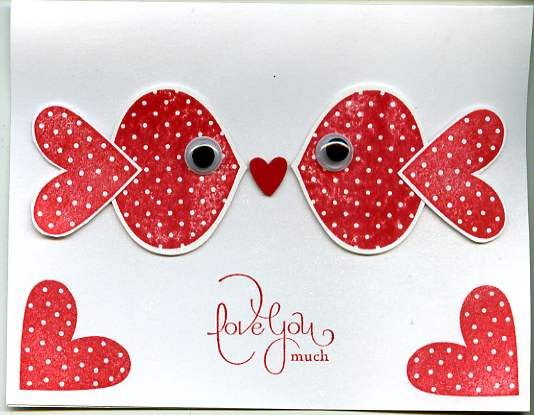 stampin up punch art  Punch Art Valentine by scgustaf  Cards and