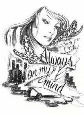 Image of: Girl Alwayz On My Mind Chicano Love Chicano Art Chicano Drawings Gangsta Tattoos Pinterest Alwayz On My Mind Cholazsexxi Cx In 2019 Chicano Art