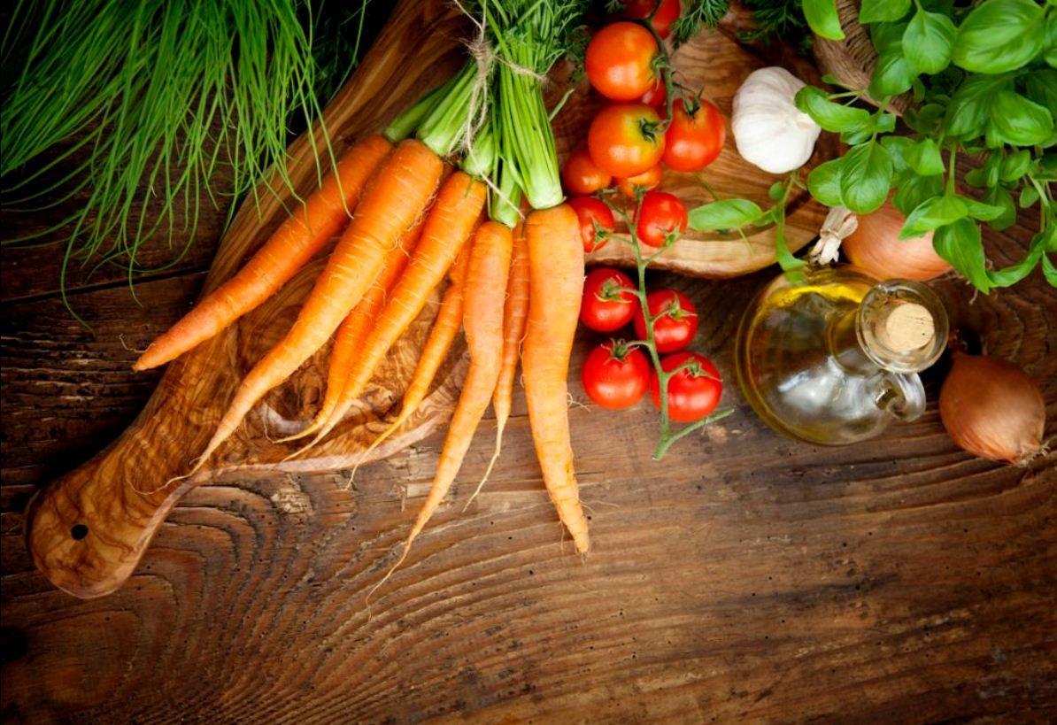 Ingredientes frescos son la orden del día Health food