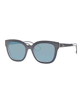 64cfd4f1a2c0 Christian Dior Diorama Caged Mirrored Sunglasses | Products ...