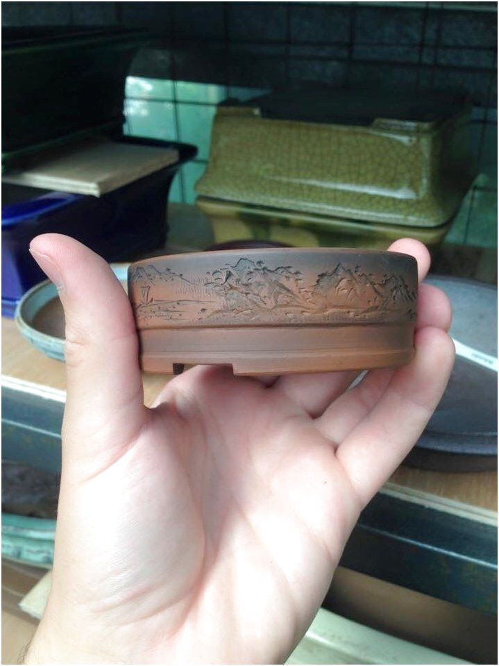 Bonsai Pot #CeramicFengShui #Ceramic #FengShui Click For More