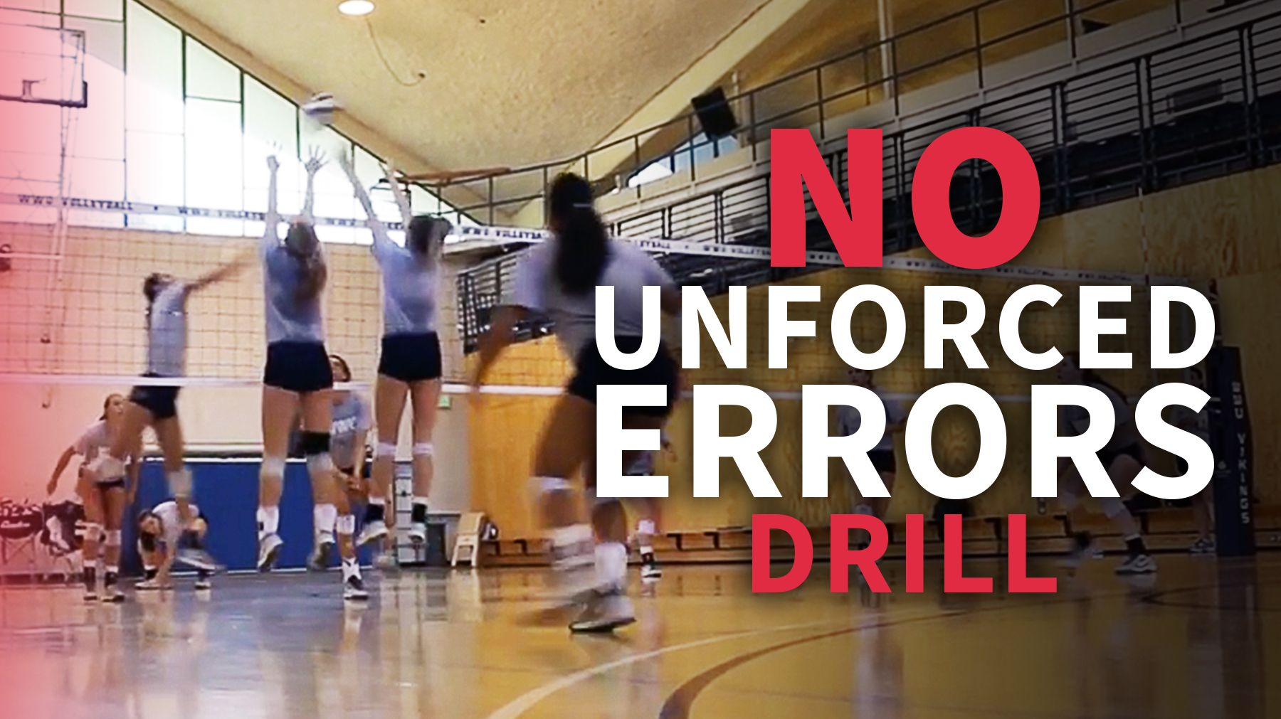 Drill To Reduce Unforced Errors And Win Big Points Coaching Volleyball Volleyball Training Volleyball Practice
