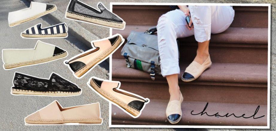 Espadryle Chanel Hummel Sneaker Shoes Sneakers