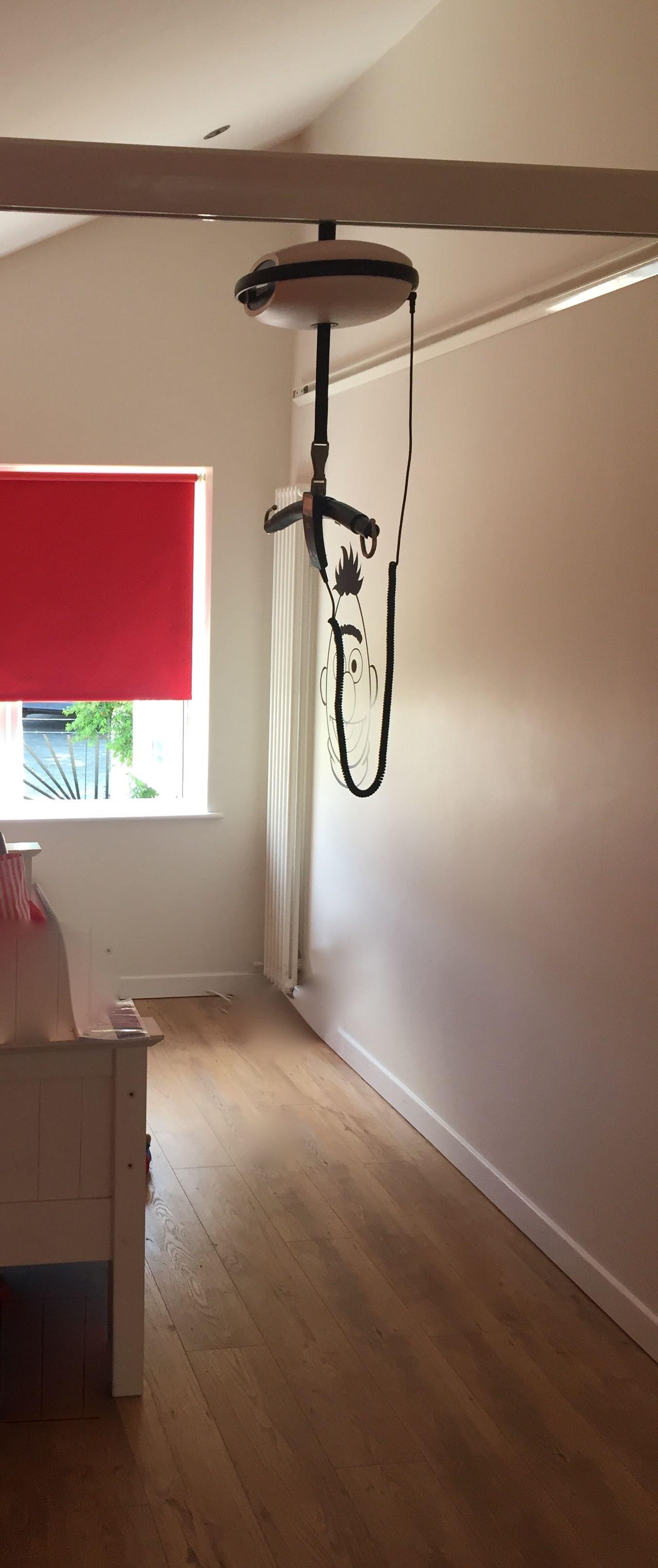 Luna Hoist C Track Wall Fix Private Home Dublin