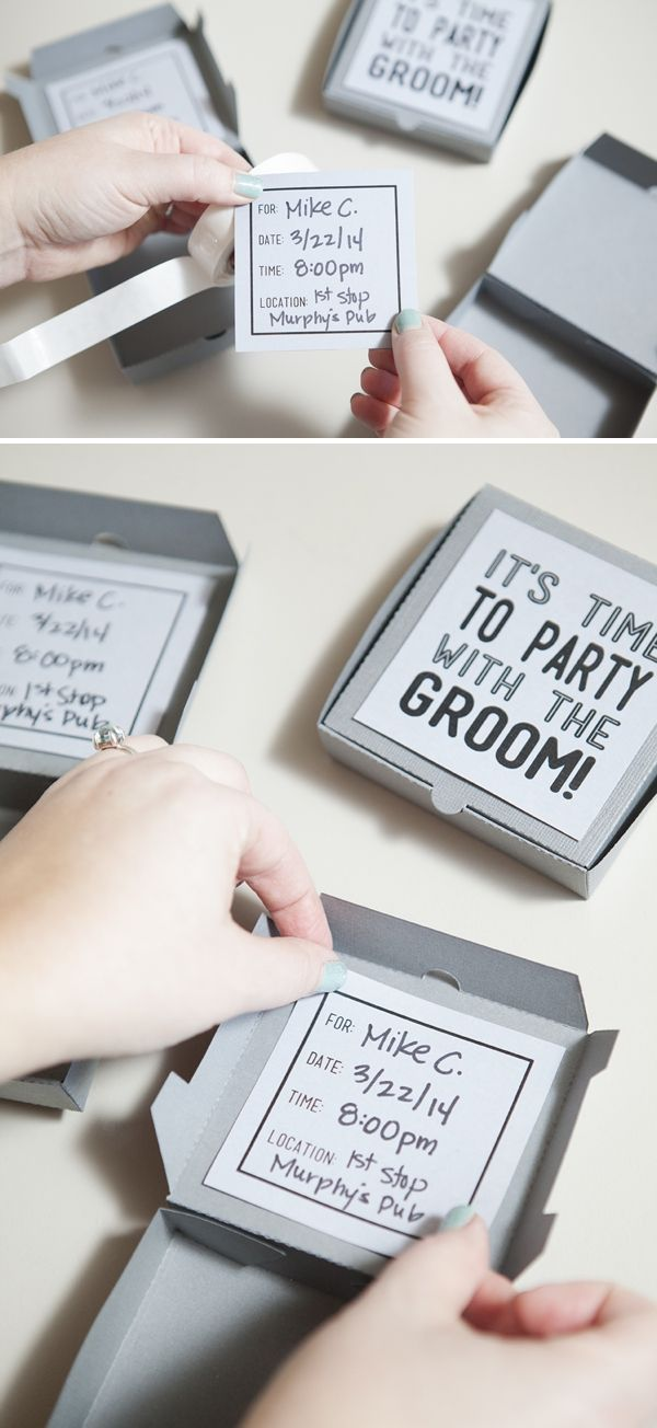 Download This Fun FREE Bachelor Party Invite Template