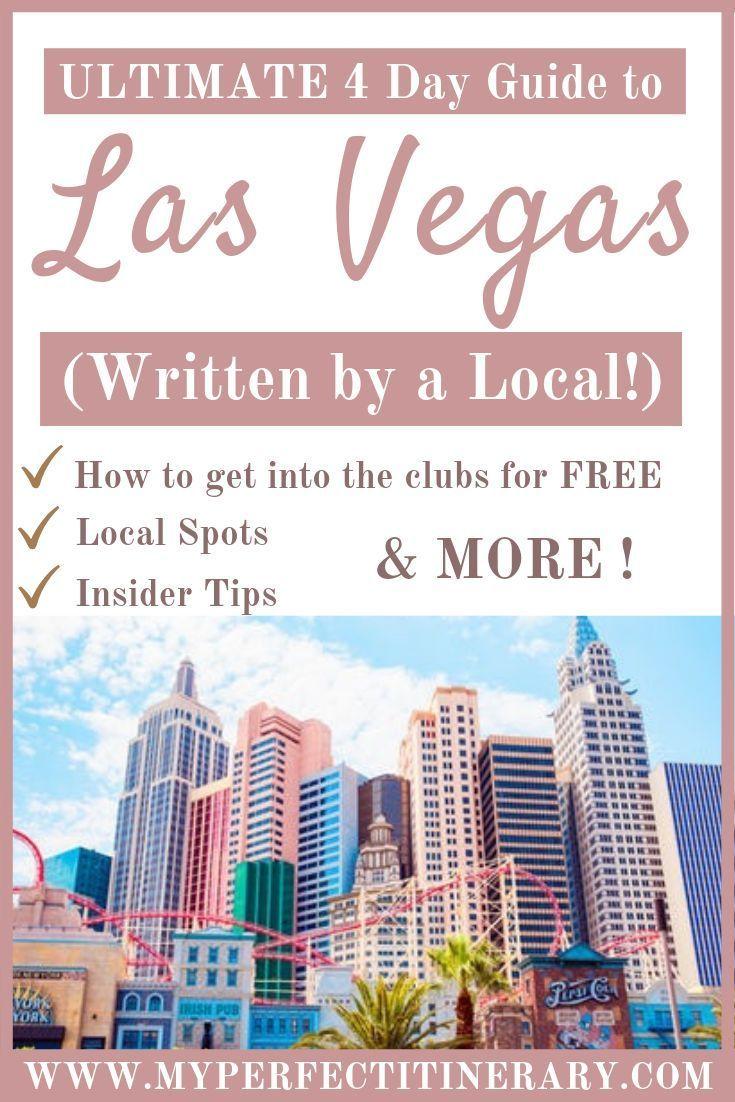 Photo of 4 Day Itinerary to Las Vegas, Nevada