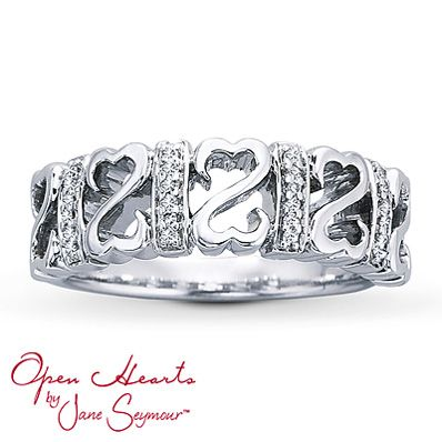 c65506dbd Diamond Ring 1/15 ct tw Round-Cut Sterling Silver   Amazing! in 2019 ...