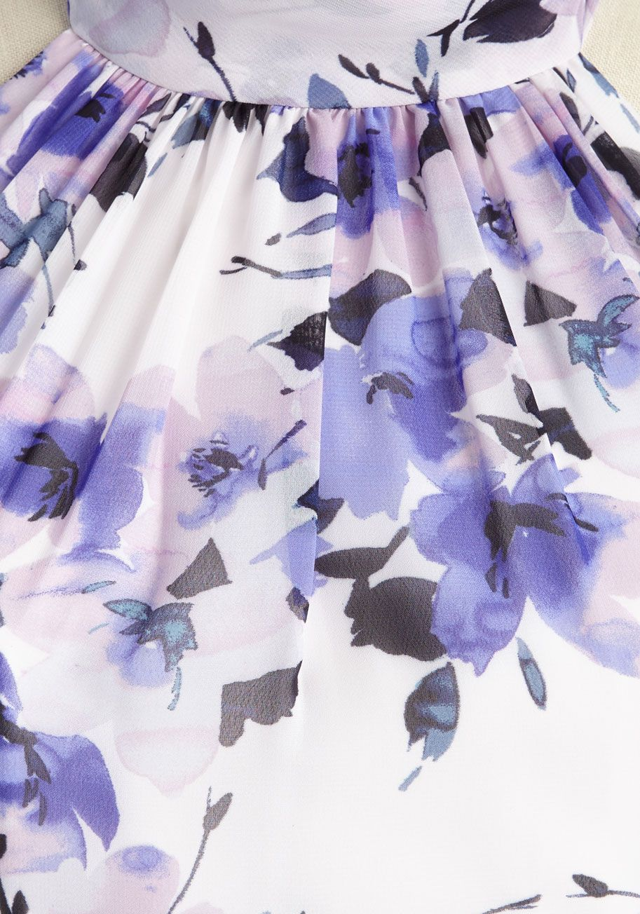 3ed135f1d486b Your love of sightseeing will take you sailing all around the world in this  floral maxi dress.  purple  prom  wedding  bridesmaid  modcloth