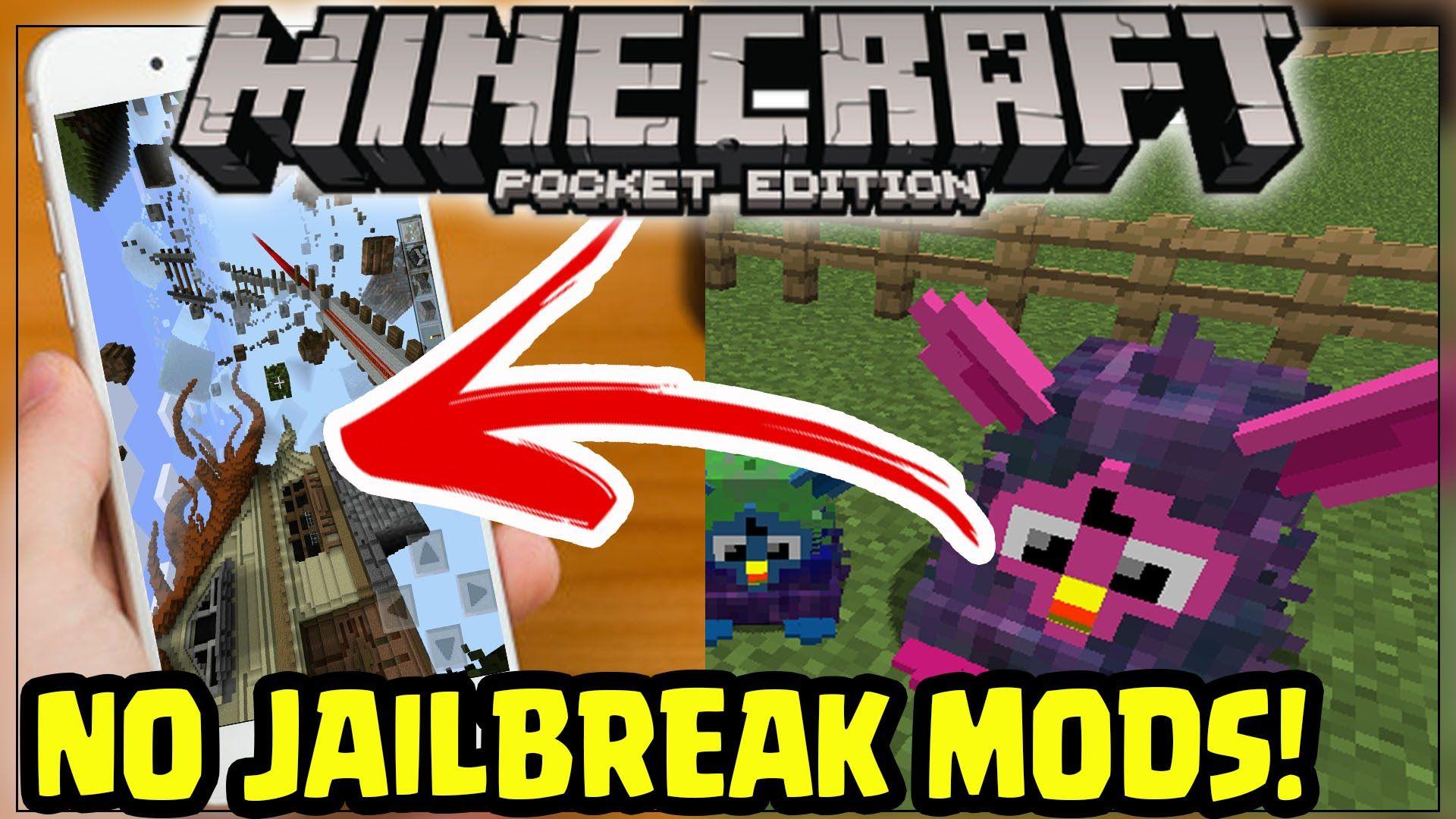 Minecraft pe gun mod ios no jailbreak