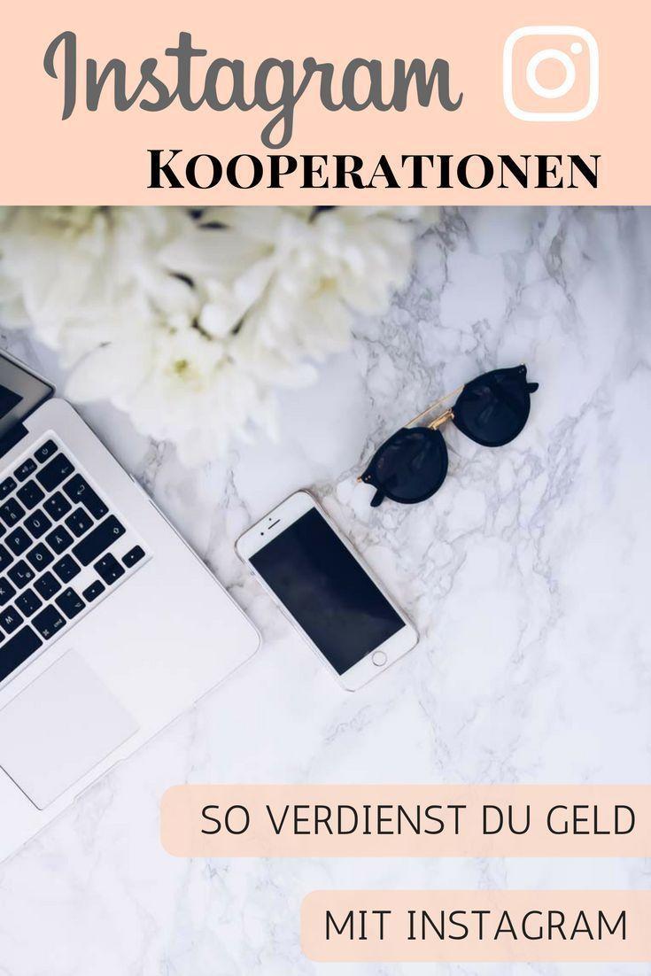 Instagram Kooperationen - Wie du mit Instagram Geld ...