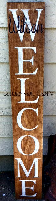 """I hand paint these signs for a realtor as her """"thank you"""" gifts to clients. Hand painted by Square Nail Crafts"""
