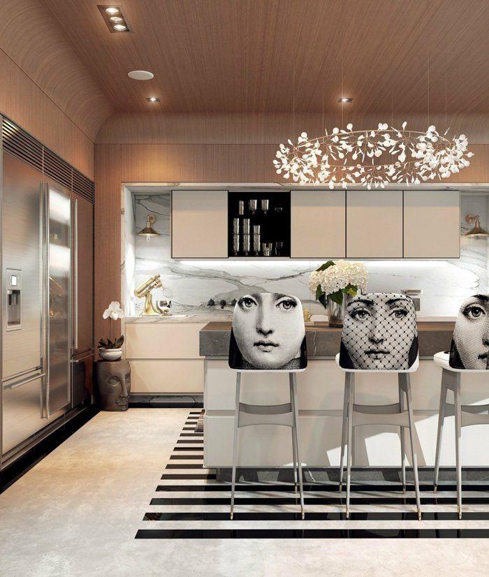 Art Deco Interior Design Kitchen: Innendesign Ideen Im Art Deco Stil Lassen Den Raum Edler