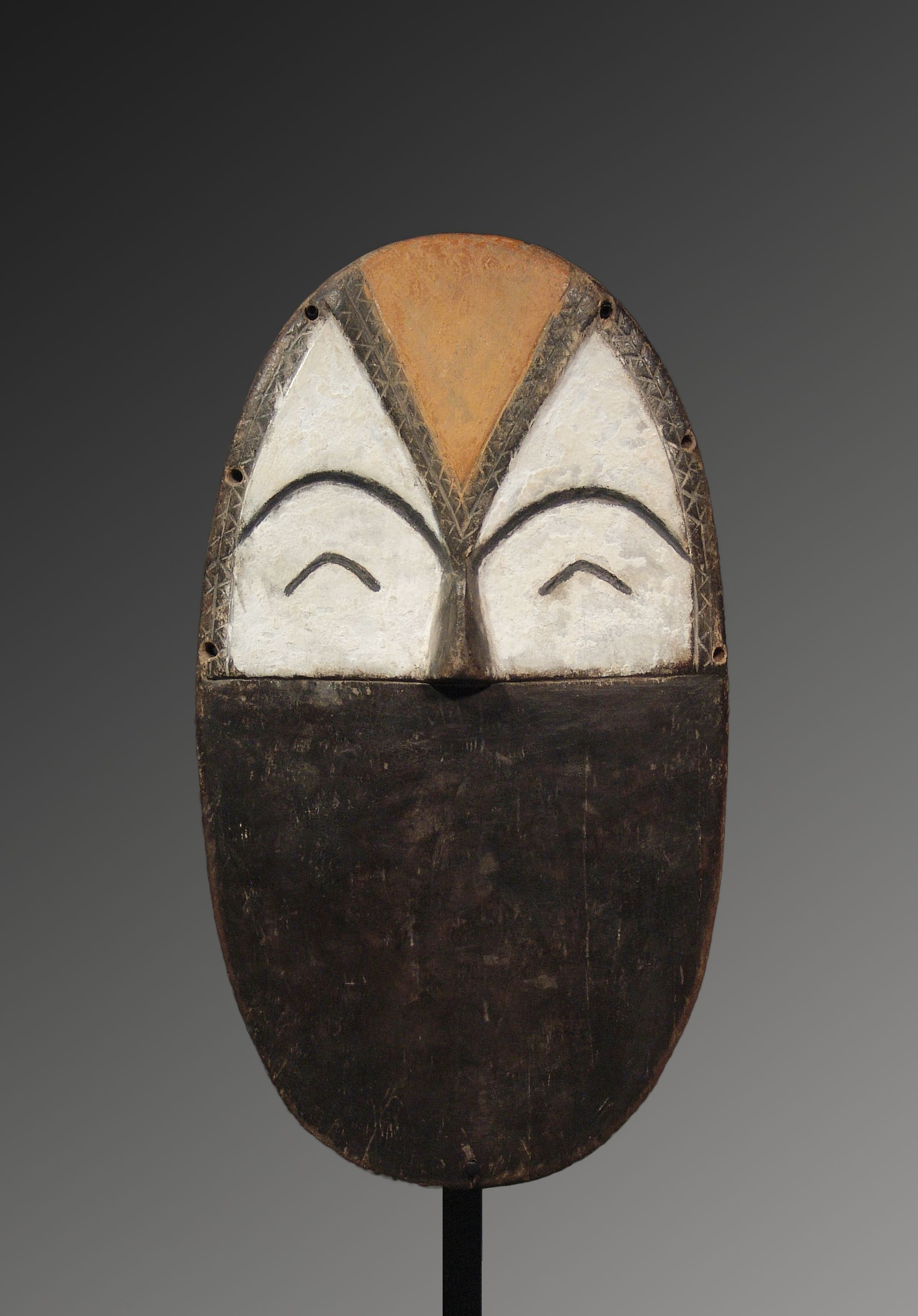 Mbole, Congo D.R. Wood And Pigments 38,5 Cm Ex Coll