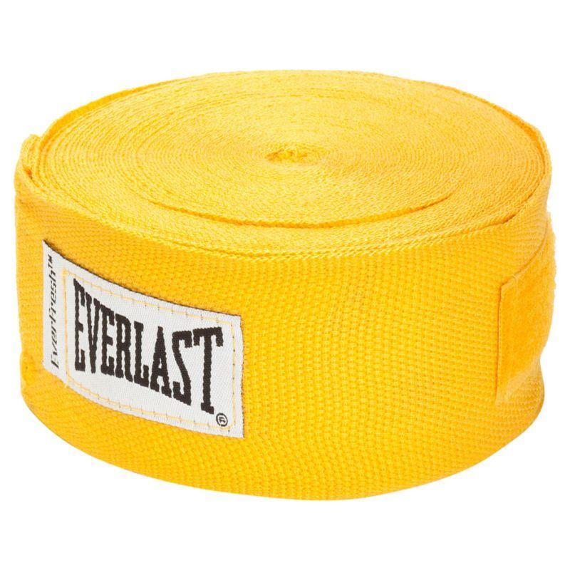 Everlast 180 cotton hand wraps gold everlast hand