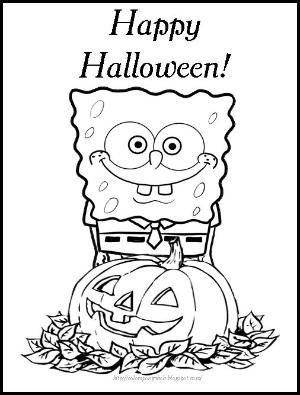 960 Top Spongebob Thanksgiving Coloring Pages  Images