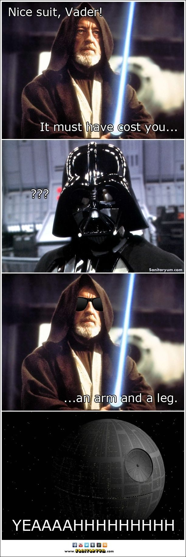 Pin By Alaina Donnell On Geektacular Star Wars Jokes Star Wars Humor Star Wars Memes