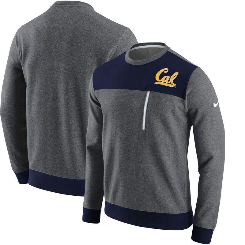 0256aa27 Cal Bears Nike AV15 Fleece Sweatshirt - Charcoal | Products ...