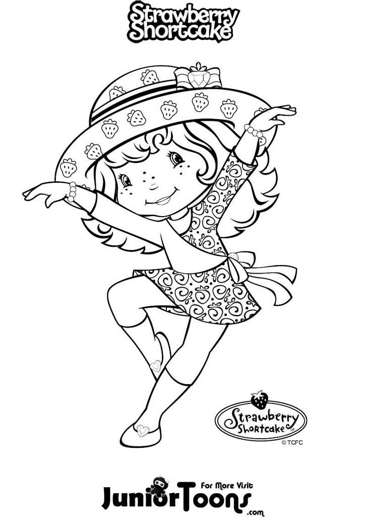 Coloring pages | Strawberry Shortcake coloring pages | Pinterest ...