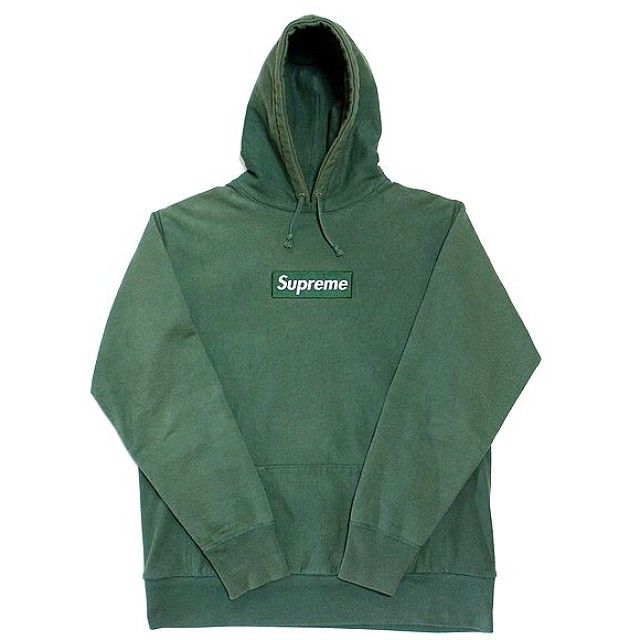 096b154140c0 Supreme Box Logo Hoodie - Forest Green