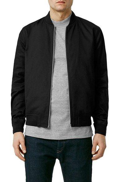 87e537a328e4 Topman Cotton Bomber Jacket